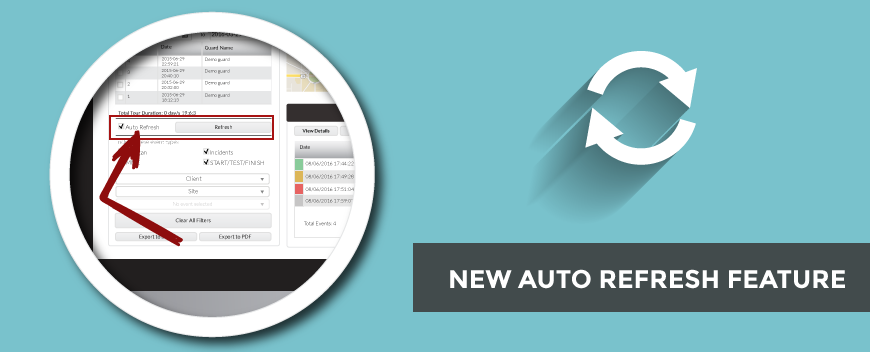 New Auto Refresh Feature! | QR-Patrol | Real Time and