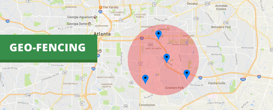geofencing feature