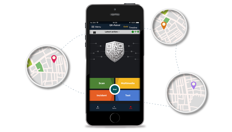 QR-Patrol mobile app | A guard system