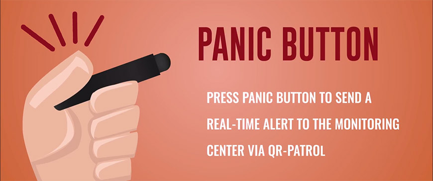 panic button for QR-Patrol