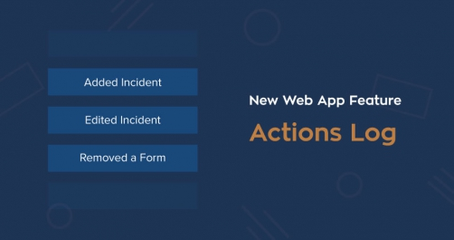 actions log
