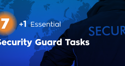 security guard tasks
