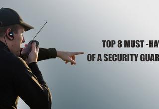 security guard equipment