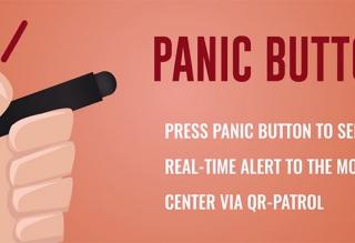 panic button for QR-Patrol